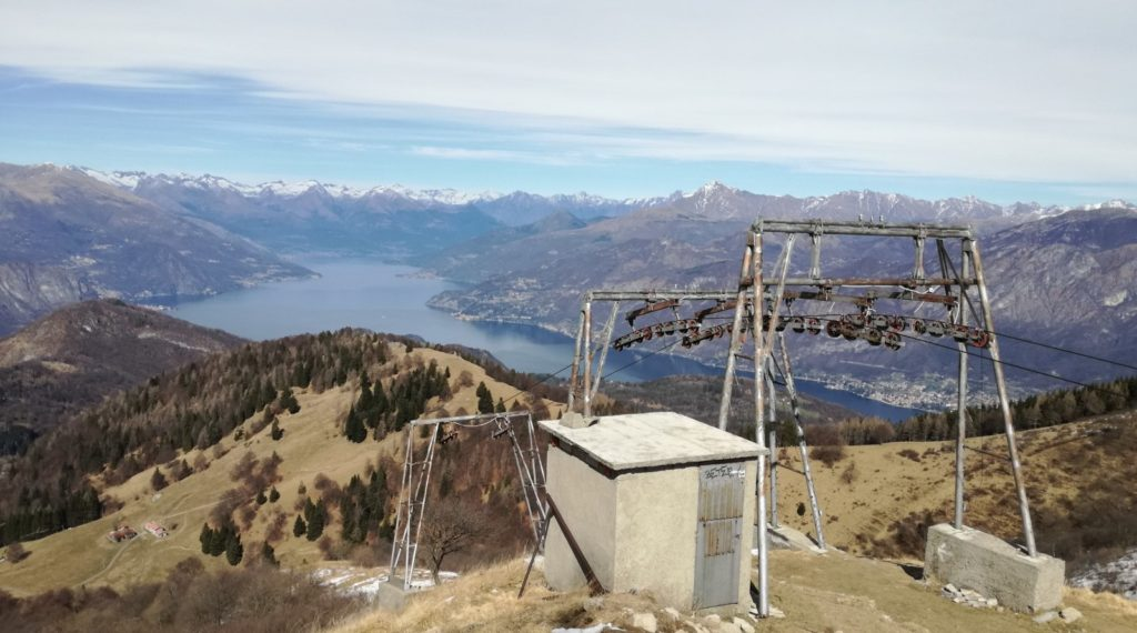 Arrivo skilift San Primo Bentornati narcisi, ma...