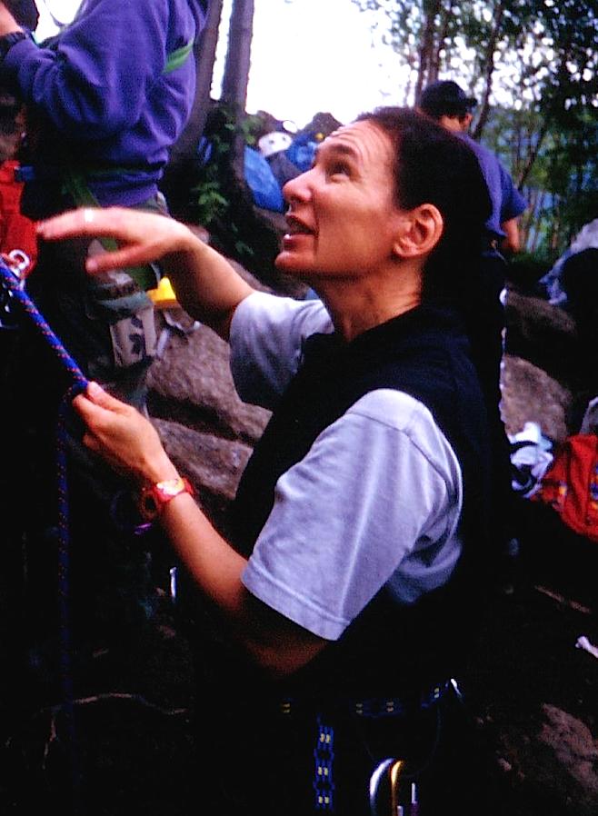 Oriana Pecchio 1 Guide alpine e mascherine