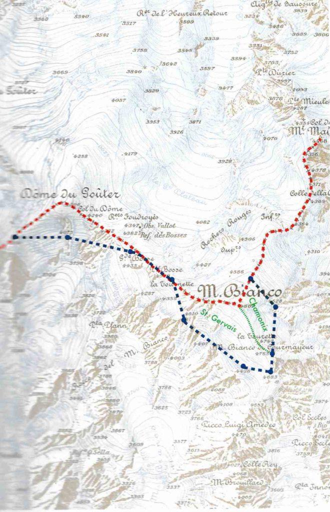 cartaMB Il Monte Bianco conteso