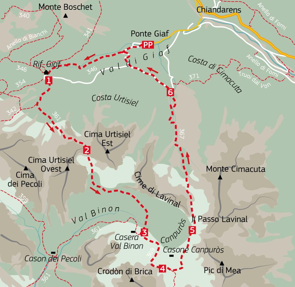 "63 Cima Urtisiel Est 01 12# Dolomiti Friulane, Monfalconi:  una ""Kora"" carica di silenzi."