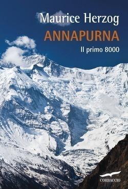 """Herzog """"Annapurna. Il primo 8000"""". Copertina"""
