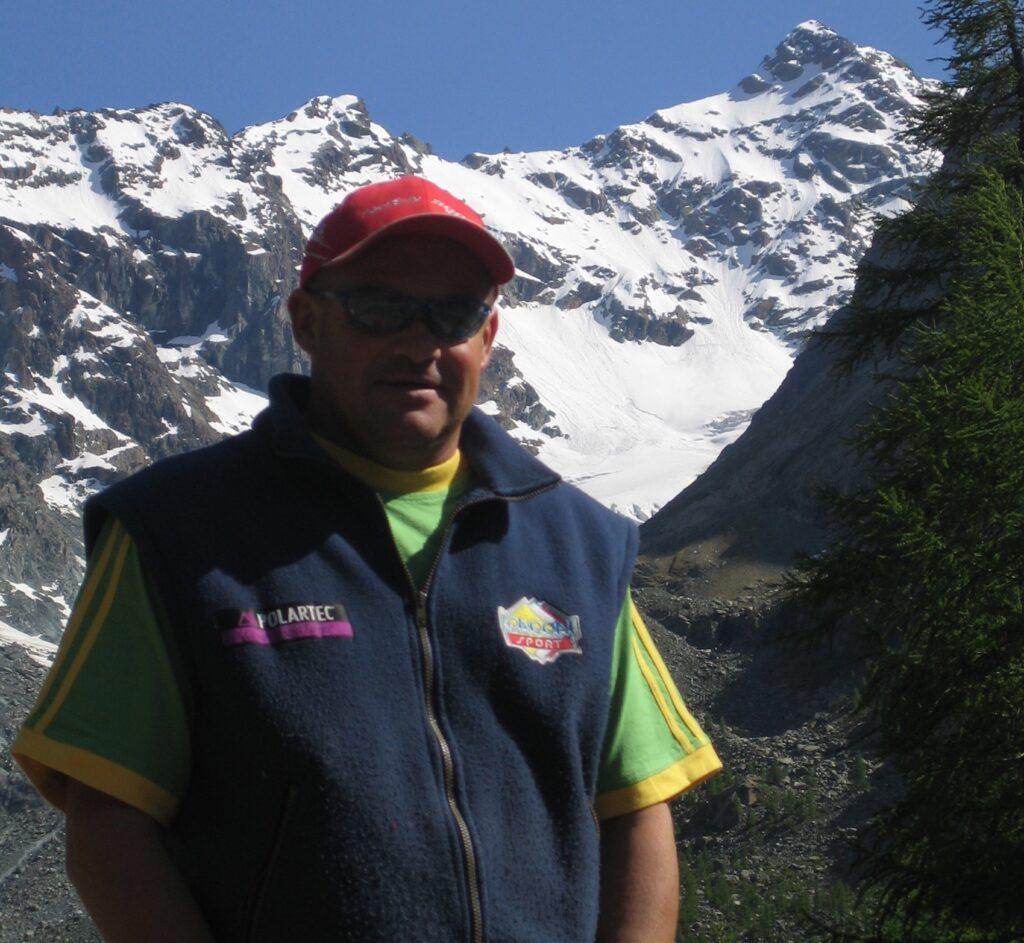 Floriano Lenatti guida alpina e gestore uscente del Rifugio Gerli-Porro