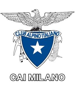 Logo del Cai Milano sezione proprietaria del Rifugio Gerli-Porro