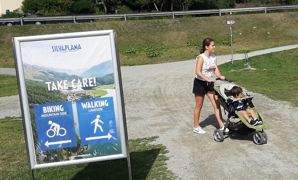 Take care con mammina copia Biking e walking inconciliabili?