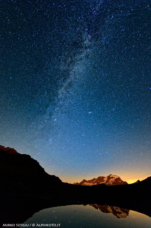 Fotografare le stelle: la via lattea.