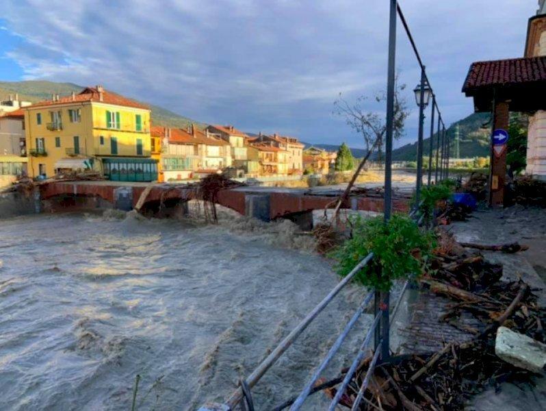Alluvioni di inizio ottobre: Garessio, il ponte Odasso
