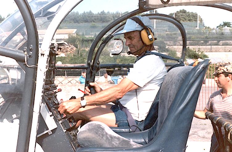 Erich Abram pilota