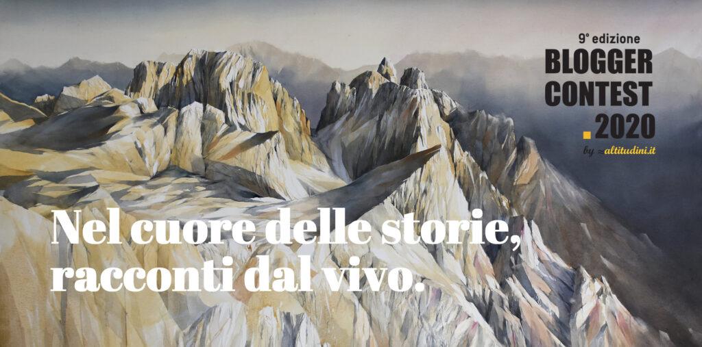 Tema del Blogger Contest 2020 di altitudini.it: Nel cuore delle storie, racconti dal vivo