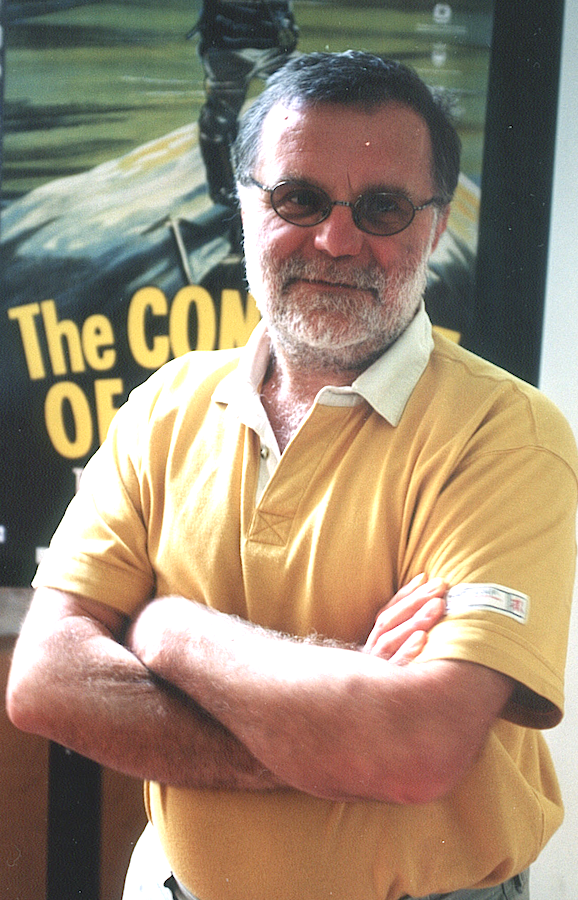Leo Dickinson autore delle spettacolari riprese in quota di Cinque giorni un'estate