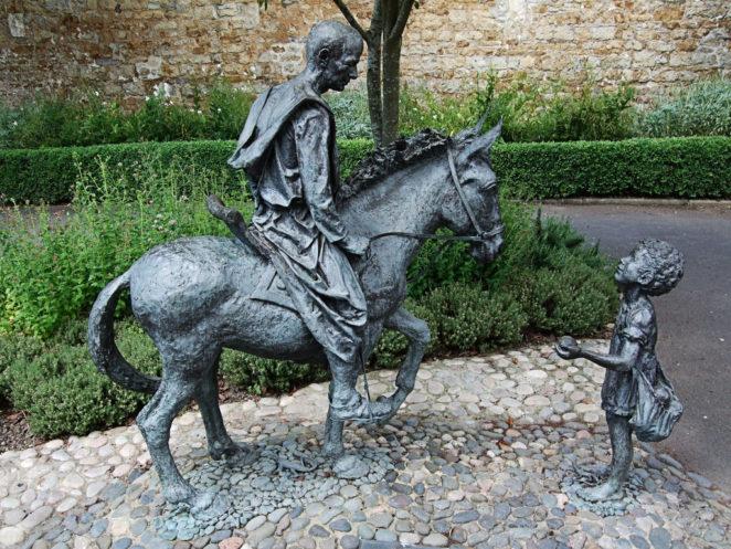 Statua di Sigerico vie storiche