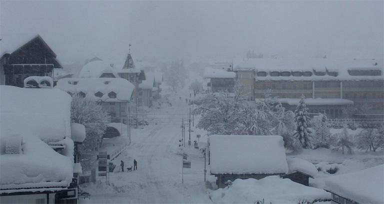 Dobbiaco Inverno eccezionale? Finora tanta neve, ma freddo normale.