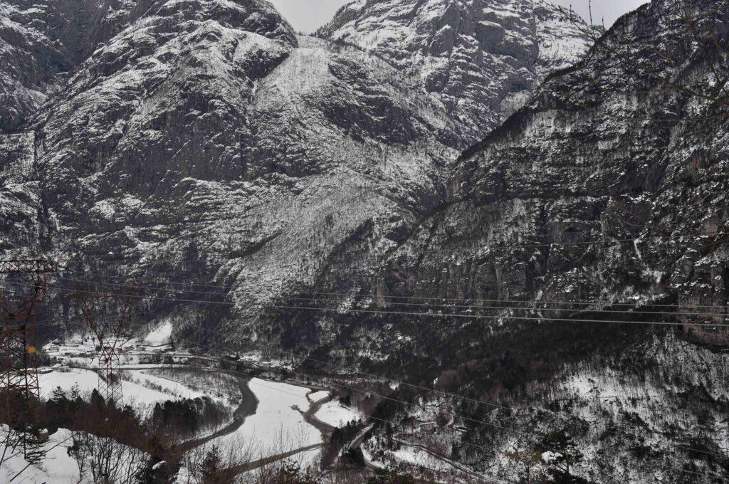 Via degli Ospizi - canale d'Agordo - agre - val Clusa