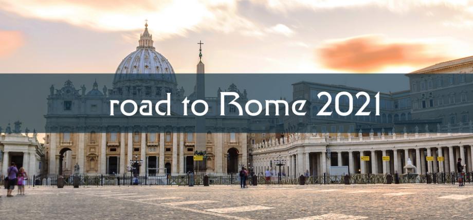 Via Francigena. Road to Rome 2021