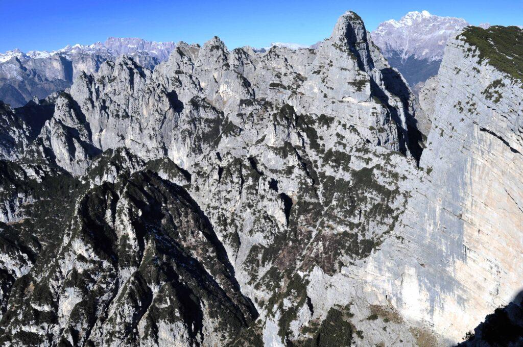 Spartiacque dei Monti del Sole, Mont Alt - Dolomiti Bellunesi