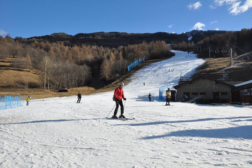 Innevamento sulle alpi Giornata Mondiale della Meteorologia