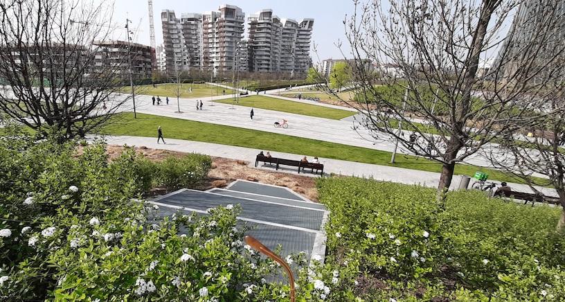 milano - sentieri urbani - city life