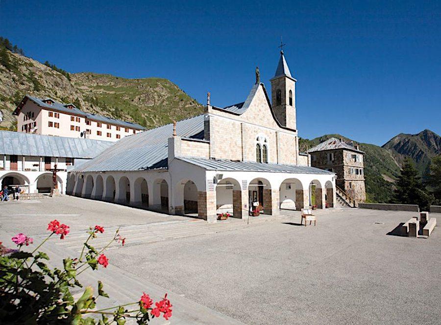 santuario Sant'Anna di Vinadio