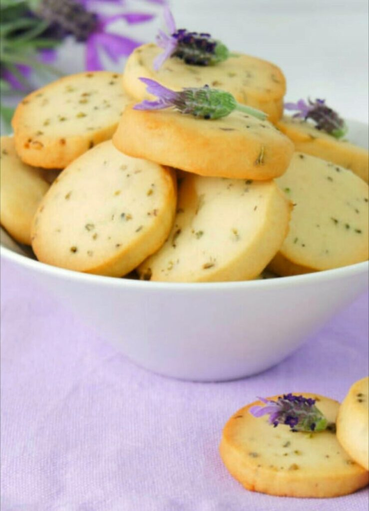 ricetta biscotti alla lavanda - Roncolo Bosco
