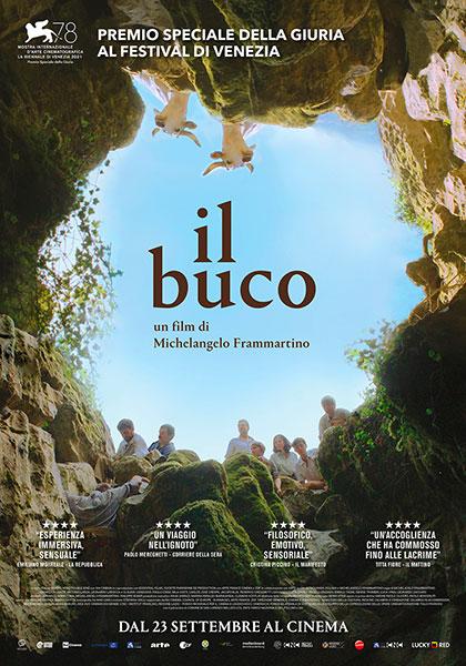 """locandina """"Il buco"""" premiato a Venezia e il Premio Rigoni Stern a Irene Borgna (e altre notizie)"""
